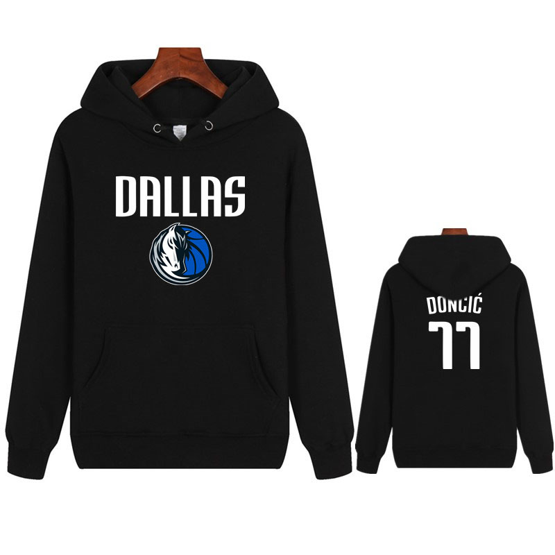 Doncic Basketball Cotton Hoodies NO.77 Lover Cotton T-Shirt Basketball Sports Men/women Casual Cotton Hoodies Pullovers Tops