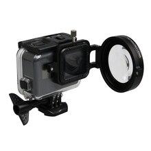 цена на Diving Lens Filter Underwater Lens Filter Red Filter 16X Close up lens 16 Times Macro Lens for GoPro Hero 7 6 5 Action Camera
