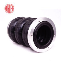 Airspirng/air suspension rubber airbags/car air spring shock absorber parts/Airllen Three convolute airspring/pneumatic parts