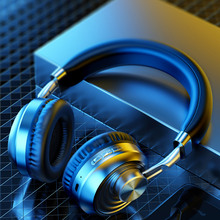 Wireless Headphones Bluetooth Headset Heavy bass Earphone Foldable Adjustable Gaming Headphone With