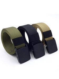 NO.ONEPAUL Tactical-Belt Youth Automatic Buckle Training Outdoor Sports Men's Casual