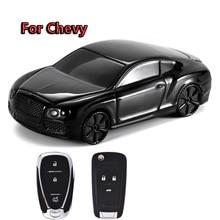 Car Key Case Cover Shell For Chevrolet Chevy Camaro Cruze Malibu Orlando Equinox Tracker Trax Aveo Opel Astra Corsa Lova Epica