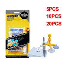 5/10/20PCS Windshield Repair Kit Car Window Glass Scratch Crack Restore Repair Tool Car Window Screen Polishing Tool