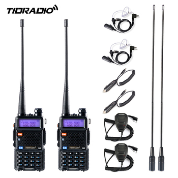 TIDRADIO Walkie talkie TD-UV5R Radio 5W Ham Upgraded Version of Baofeng UV-5R Two Way Dual Band UHF VHF - discount item  20% OFF Walkie Talkie