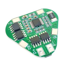 3S 12V 18650 Lithium Battery Protection Board 11.1V 12.6V overcharge over-discharge protect 8A 3 Cell Pack Li-ion BMS PCM PCB