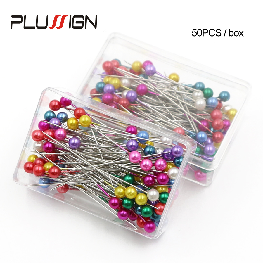 Cheap Black Positioning Needles Diy Sewing Tools Accessory Patchwork Locating Pearl Light Straight Pins Sewing Tools Accessories
