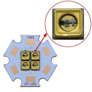 Image 4 - 275nm 310nm עמוק UVC LED 32mW 40mW דיודה 3535 מנורת SMD חרוזים 6V12V24V 4 שבבי עבור UV חיטוי ציוד 285nm 315nm Steriliza