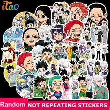 Random Pack Anime Hunter X Hunter Stickers Waterproof PVC Skateboard Graffiti Luggage Guitar Laptop Vsco Girl Sticker Kids Toy