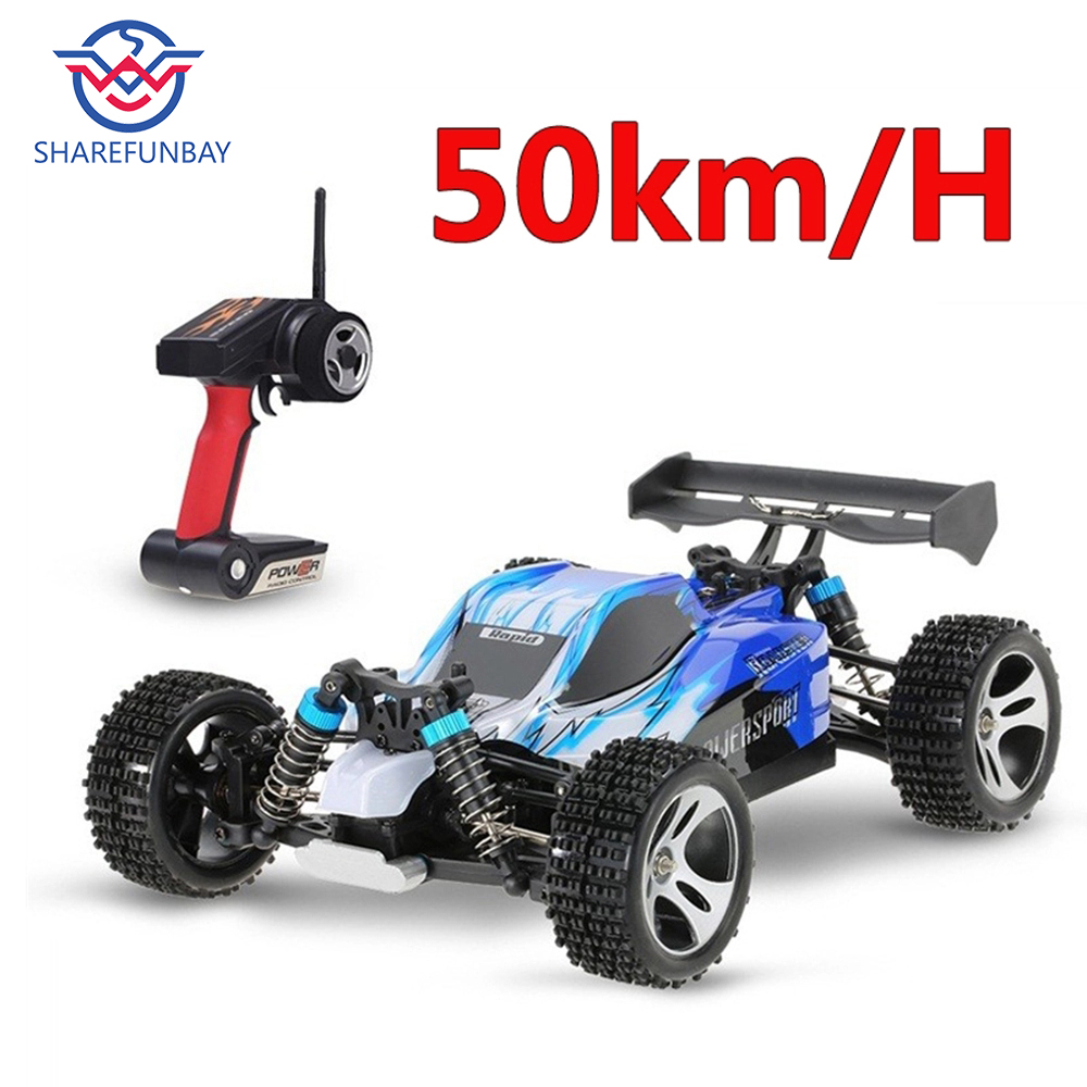 2018 Newest RC Car Electric Toys Remote Control 2.4G Shaft Drive Truck High Speed Drift Rc Racing include battery
