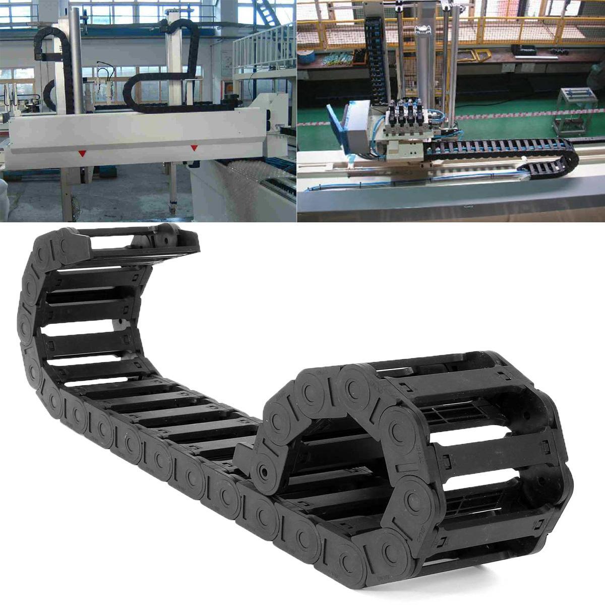 1000mm-cable-drag-chain-wire-carrier-25x77mm-reinforced-nylon-pa66-chains-for-cnc-router-machine-tools