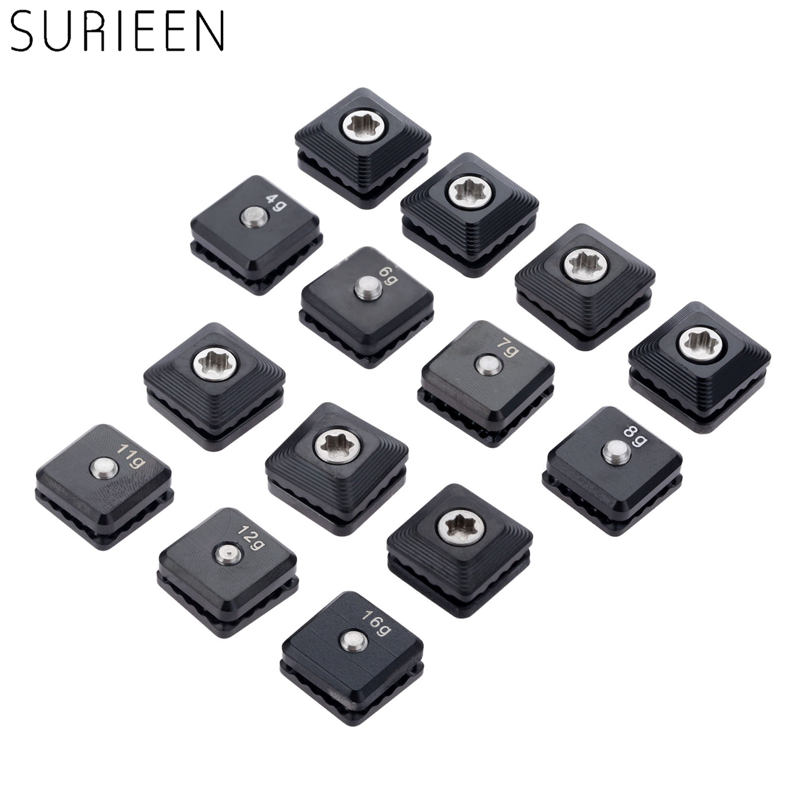 SURIEEN 1Pc Alloy Golf Weight Screw Replacement For Taylormade M5 Driver Head Golf Club Head Accessories 4g 6g 7g 8g 11g 12g 16g