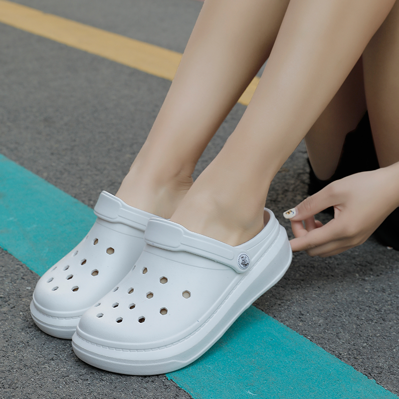 Women/'s Summer Slippers Slip On Casual Flat Swimming Clogs Beach Garden Sandals