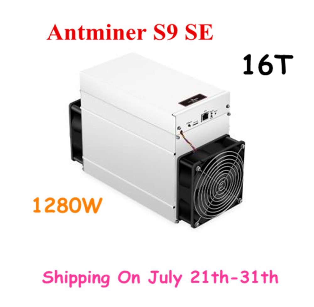 Nouveau AntMiner S9 SE 16TH/S avec PSU BCH BTC Miner mieux que S9 13.5t 14t S9j 14.5t S9k S11 S15 S17 T15 T17 WhatsMiner M3