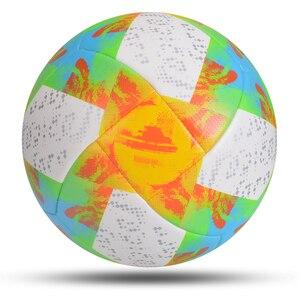 Image 5 - 2020 mais novo jogo bola de futebol tamanho padrão 5 bola de futebol material do plutônio alta qualidade esportes league formação bolas futbol
