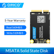 ORICO mSATA SSD 128GB 256GB 512GB 1TB SATA Internal Solid State Hard Drive For Desktop Laptop br all new 120gb 240gb msata ssd mini sata3 0 6gbps 240g 120g internal solid state drive hard drive ssd for laptop