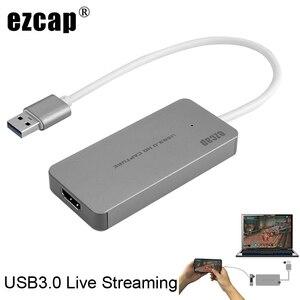 Image 1 - USB 3.0 TypeC 비디오 캡처 카드 HDMI to USB3.0 TV BOX 캠코더 게임 PS3 PS4 XBox one Phone 용 라이브 스트리밍 레코딩 동글