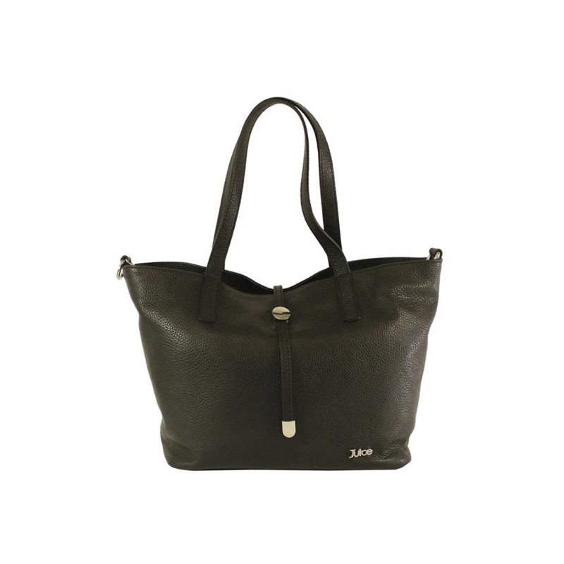 Juice brand, genuine leather bag Made in Italy, casual tote bag 005.410