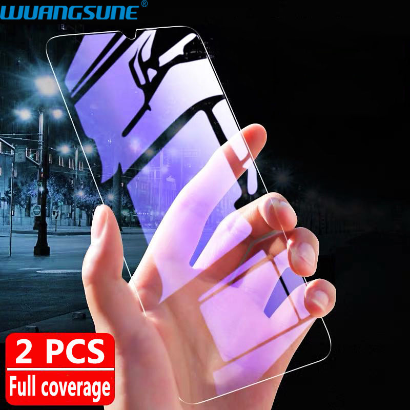 1-2Pcs Full Cover Tempered Glass For Redmi Note 8 8T 8Pro Screen Protector Film HD Transparent For Redmi 8 8A Protective Glass