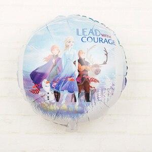 6 шт Эльза Дисней холодное сердце принцесса гелиевые воздушные шары 32 дюйма номер детский душ девочка фольга globos украшения для дня рождения Детские игрушки