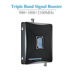Image 3 - Lintratek starter skoku samochodowego 2G 3G 4G komórka wwmacniacz sygnału telefonu 2100MHz 1800MHz 900MHz potrójny zespół repeater sygnału telefonii komórkowej napęd @