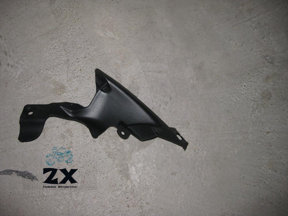 a pair unpainted Motorcycle fairing Air Duct Tube Cover For Yamaha YZf <font><b>R1</b></font> <font><b>2007</b></font> 2008 <font><b>r1</b></font> Dush trim ram air cover ZXMT image