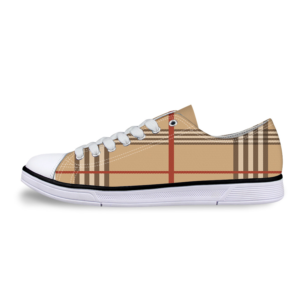 Canvas High Top Sneaker Casual Skate Shoe Boys Girls Scotland Flag