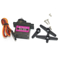 Mitoot MG90S 9g Metal Gear Upgraded SG90 Digital Micro Servos for Rc Helicopter Plane Boat Car Trex 450 RC Robot Helicopter