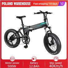 Top-Speed Moped Mountain-Bicycle Electric-Bike Folding 500W Mileage 20-Inches M1 Pro