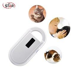 Бесплатная доставка ISO11784/5 FDX-B считыватель для домашних животных чип транспондер USB RFID ручной микрочип сканер для собак, кошек, лошадей