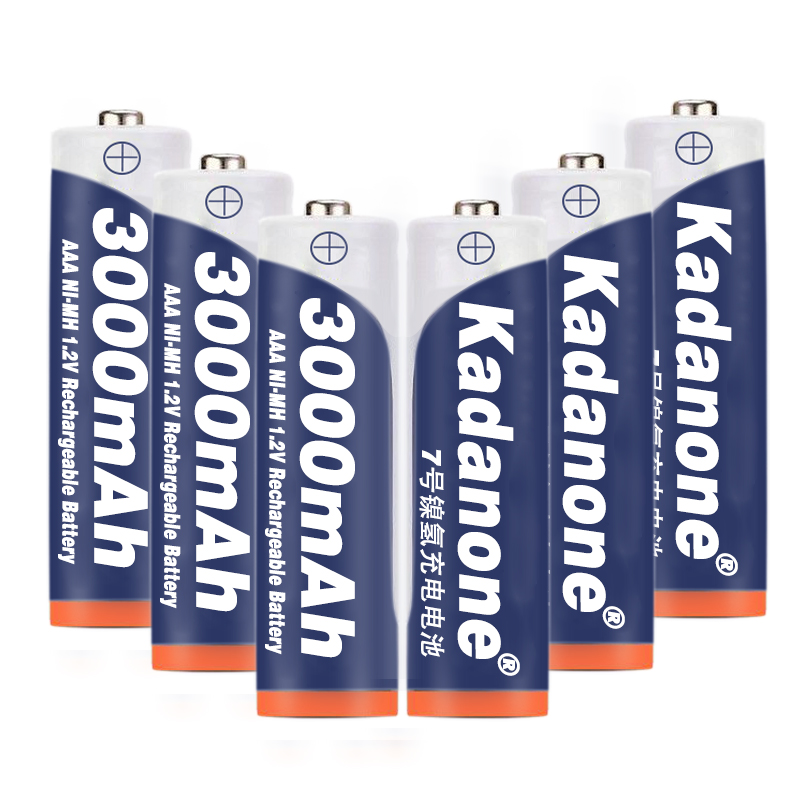 4 ~ 20 pcs new AAA battery 3000 mAh 3A AAA rechargeable battery Ni-MH 3A 1.2 V aaa battery for watches mice computers toys so on(China)