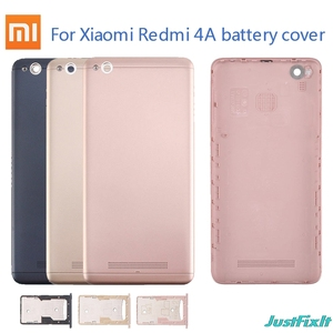 Original Case For Rear Door Back Housing Case For Xiaomi Redmi 4A Back Battery Cover Replacement