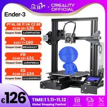 CREALITY impresora 3D Ender 3/Ender 3X, mejorada opcional, ranura en V, KIT de máscaras de impresión por fallo de energía, Hotbed
