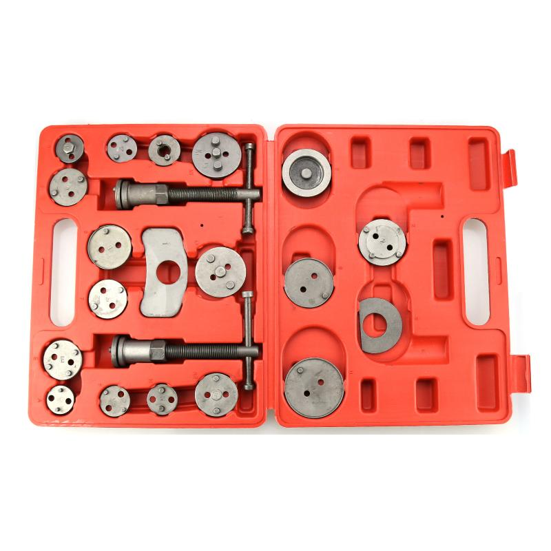 21Pcs/Set Auto Car Brake Disc Caliper Wind Back Tool Kit Precision Brake Piston Pump Pad Repair Tools Fast Shipping