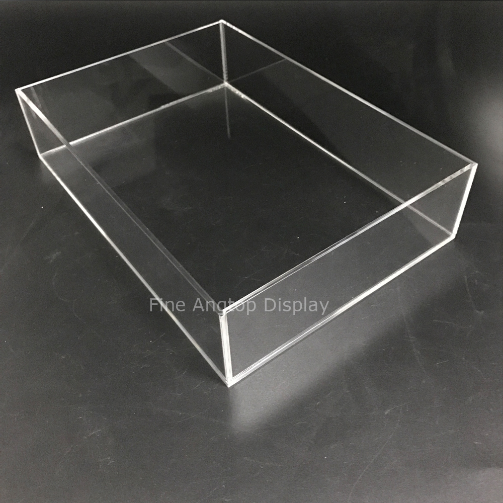 Quality Acrylic Makeup Brushes Holder Cosmetic Makeup Organizer Jewelry Display Tray