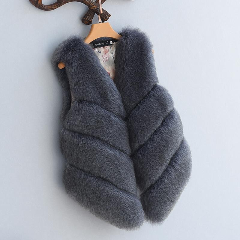 Women's Fox Fur Waistcoat 3