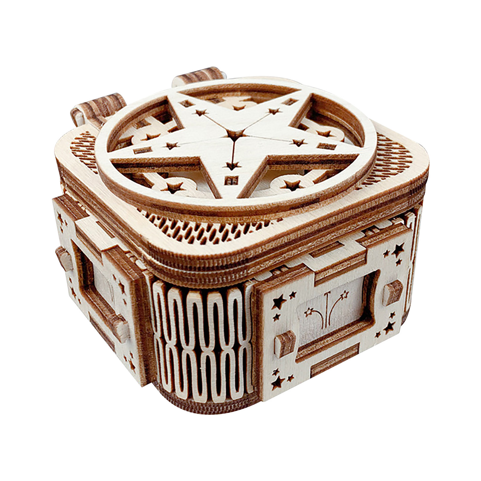 2020 DIY Manual Splicing Model Of 3D Children's Wooden Mechanical Transmission Puzzle Wooden Splicing Toys F Fast Ship 14