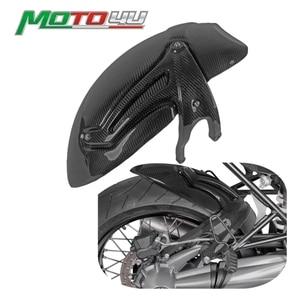 Real Carbon Motorcycle Rear Fender Mudguard Tire Hugger Fender Gloss For BMW R NINE T R NineT r9t 2014 2015 2016 2017 2018 2019