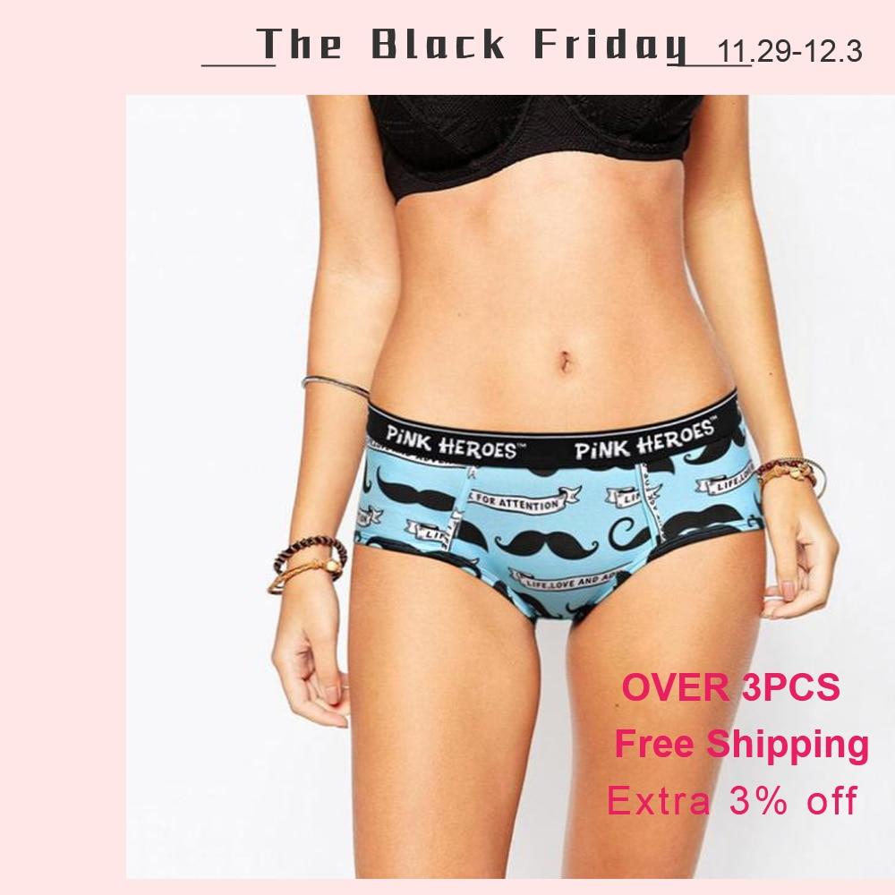 6 Pairs Women Lace Underwear Panties Boxer Briefs Knickers Underpants Lingerie
