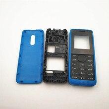 Carcasa completa para Nokia 105, 1050, RM1120, Rm908, carcasa de teléfono móvil, marco de puerta con teclado en inglés