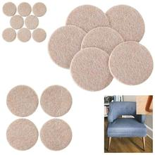 Leg-Pads Furniture-Legs Floor-Protectors Anti-Slip-Pad Table Felt-Chair for Thicker Round-Bottom