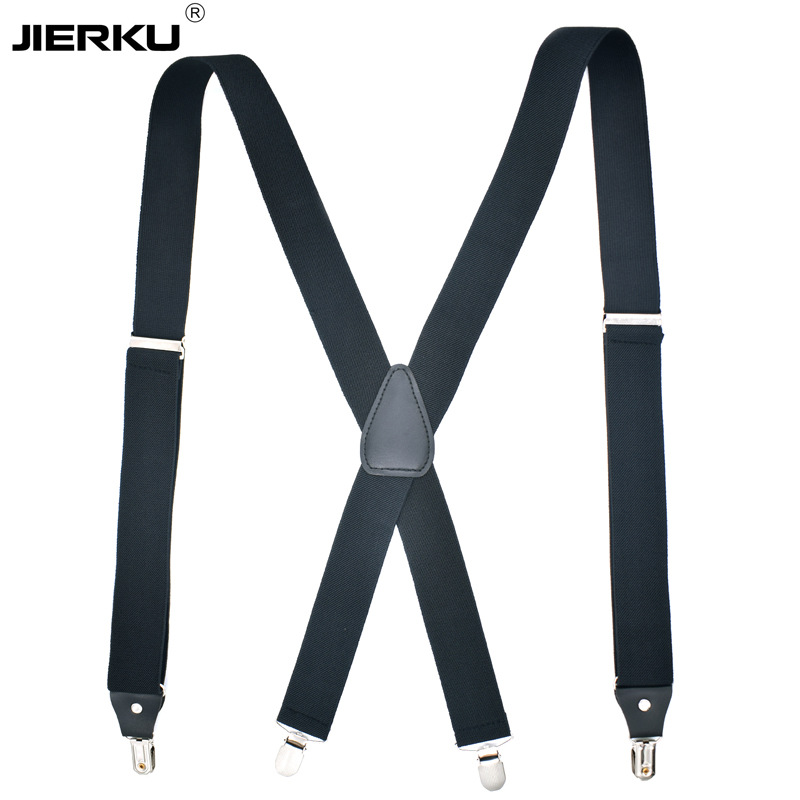 Cross Border Supply Of Goods Brand Suspender Strap Adult 4 Clip Men Suspender Strap Electricity Supplier Supply Of Goods X Type