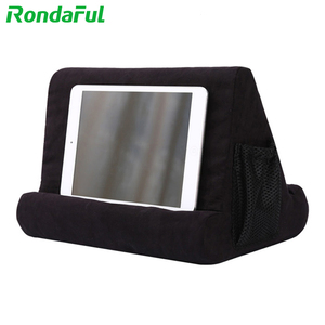 Portable Tablet Holder for iPad Smart Phone Soft Pillow Stand Multifunctionele Bracket for Xiaomi Huawei Pad Drop Shipping(China)