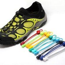 1 пара эластичных шнурков Unsiex для женщин и мужчин, без шнуровки, для тренировок, бега, атлетических пробежек, шнурки для обуви, женская обувь