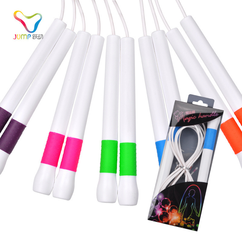 Vibrant Jump Rope Game Pattern Athletic Speed White Glue Lanyard Personal Fancy Short Lanyard Magic Wand 2.0