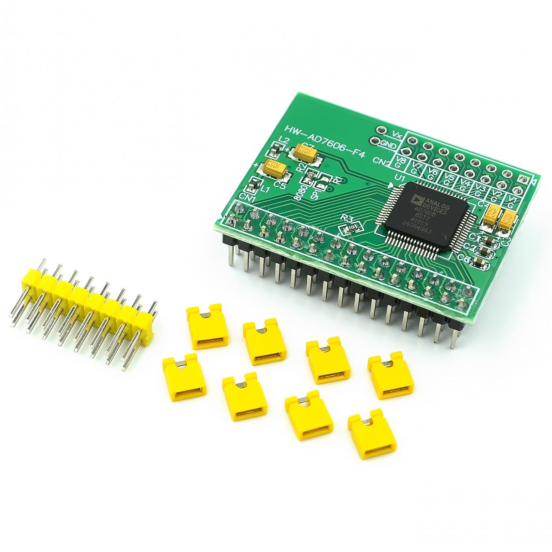 Module dacquisition de données AD7606 de synchronisation ADC 8CH 16Bits 200Ksp
