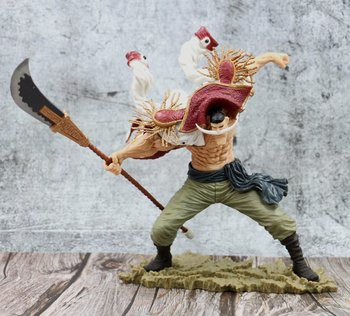 Anime One Piece SCultures the TAG Team Edward Newgate 20th Figure Statue One Piece White Beard Figure Collectible Model Toy 1