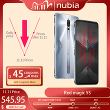 Global Version Nubia Red magic 5S Gaming Smartphone Redmagic 5S 5G Game Mobile Phone Snapdragon 865 NFC 6.65″