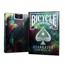 Bicycle Stargazer Nebula Playing Cards USPCC Space Galaxy Deck Poker Size Card Games Magic Trick Props for Magician