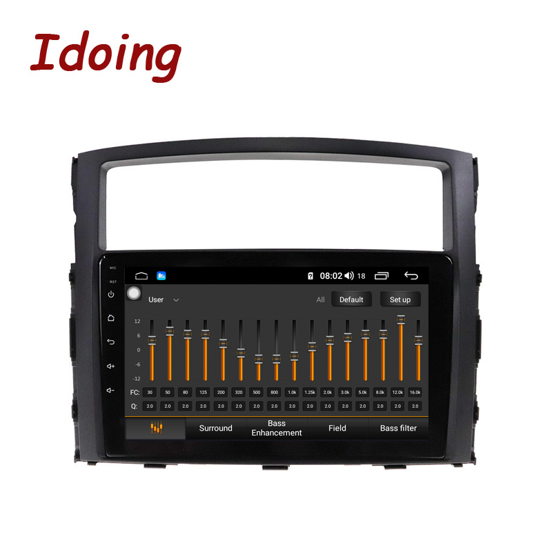 Idoing Android Car Multimedia Player For MITSUBISHI PAJERO V97 93 2006 2012 Radio GPS Navigation Built in Android AUTO carplayermultimedia player for carmultimedia for cargps tv -