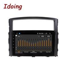 Idoing Android samochodowy odtwarzacz multimedialny dla MITSUBISHI PAJERO V97 93 2006 2012 Radio nawigacja GPS wbudowany Android AUTO carplayer